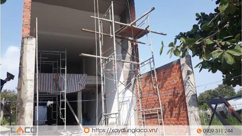 Công trình tòa nhà văn phòng cho thuê 5 tầng.