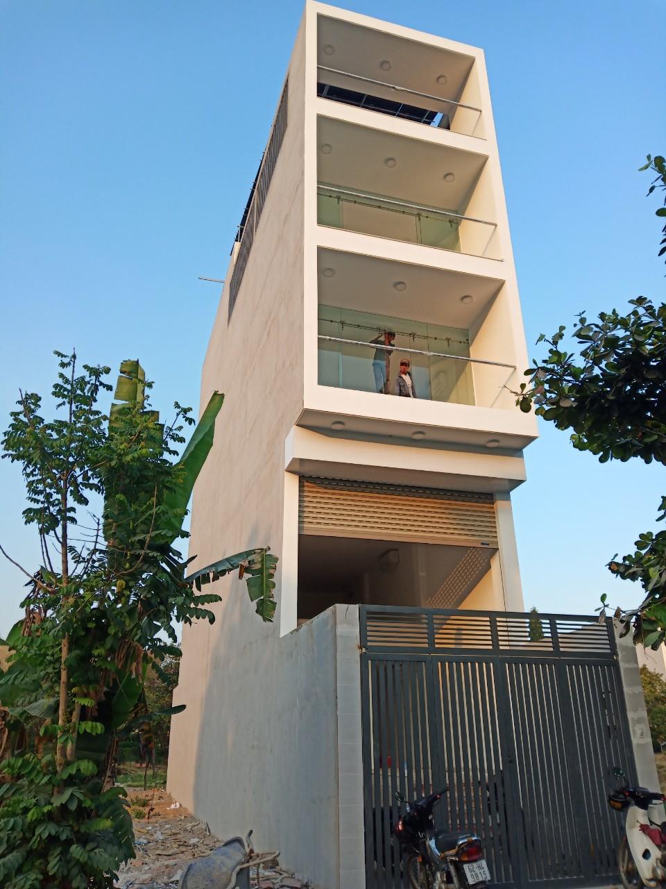 Công trình tòa nhà văn phòng cho thuê 5 tầng
