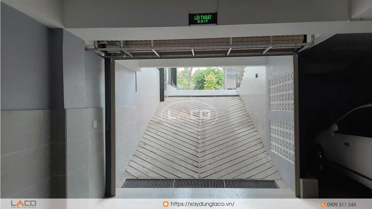 Chiều cao tầng hầm của tòa nhà văn phòng tối thiểu 1,5m.