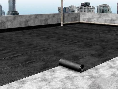 Kỹ thuật thi công chống thầm tầng hầm bằng các màng tự dính hoặc màng khò.