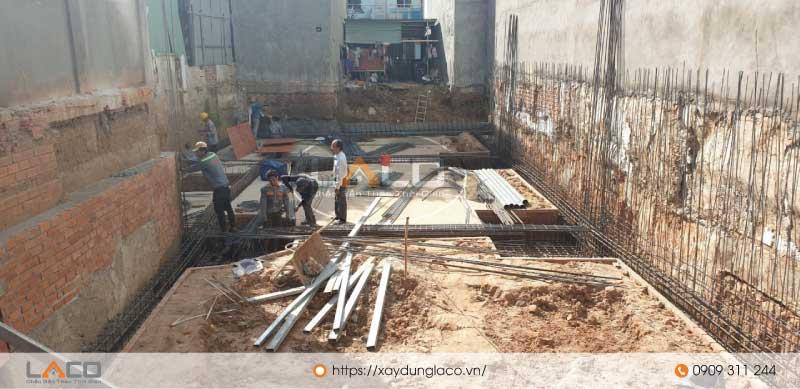 Công tác đào móng cho tòa nhà văn phòng