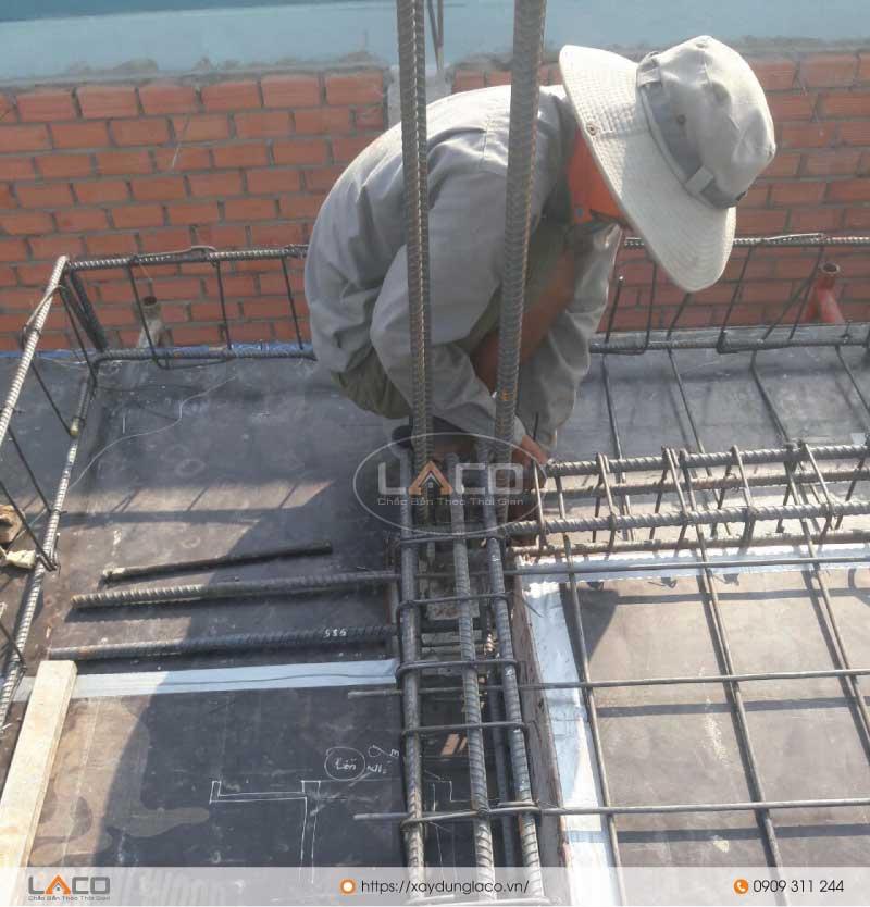 Gia công cốt thép sàn cho công trình tòa nhà văn phòng