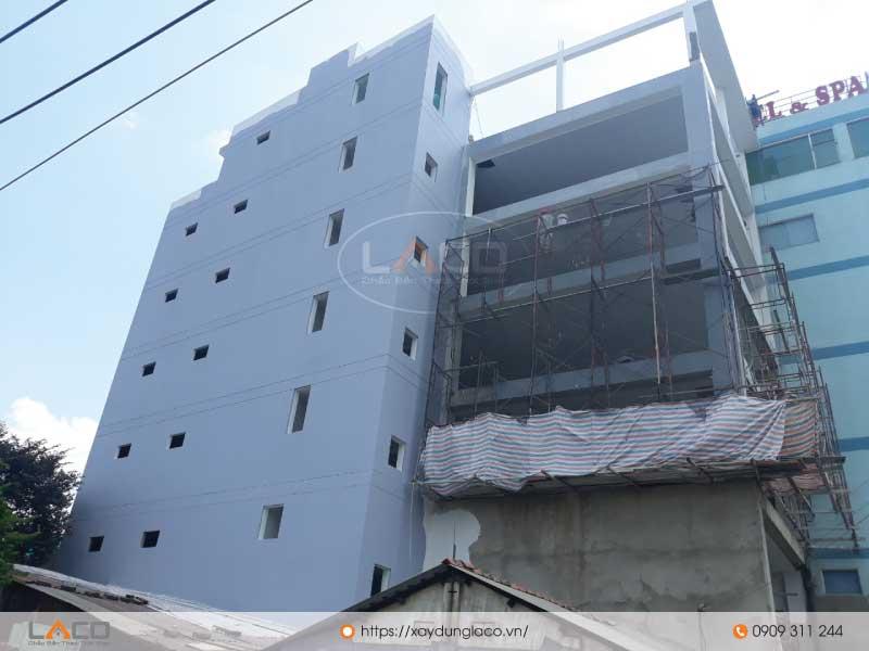 Tòa nhà văn phòng cho thuê đang trong giai đoạn hoàn thiện