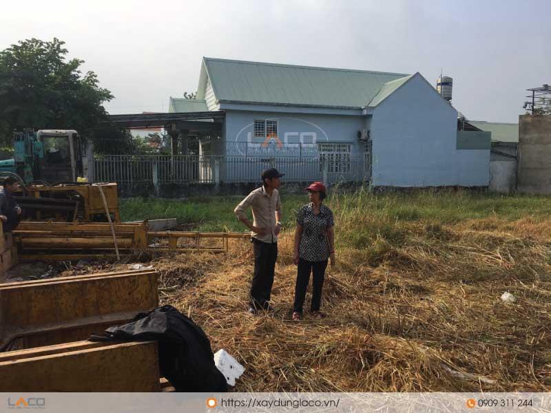 cúng động thổ nhà cô lan tại long thành đồng nai